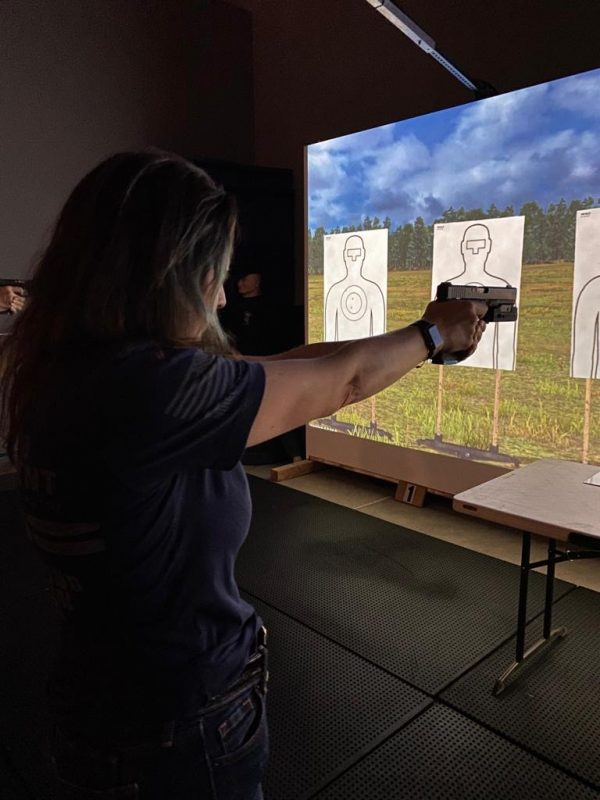 The best firearm training completely safe at Artemis